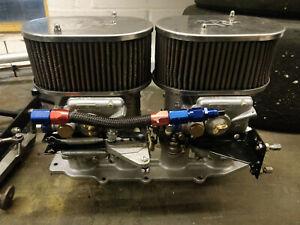 Webber Carburettor pair