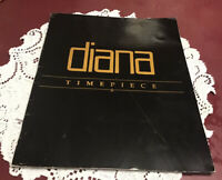 Diana Ross Vintage Souvenir Timepiece Tour Concert Program /Booklet