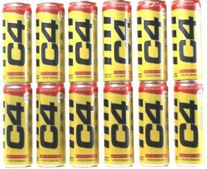 12 Ct C4 Original Strawberry Watermelon Zero Sugar Explosive Energy BB 9-2021