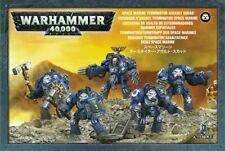 Space Marines Terminator Assault Close Combat Squad - Warhammer 40k - New! 48-34