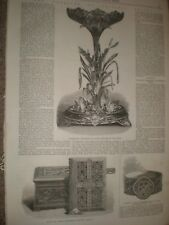 Marriage gifts for Princess Helena 1866 prints ref C