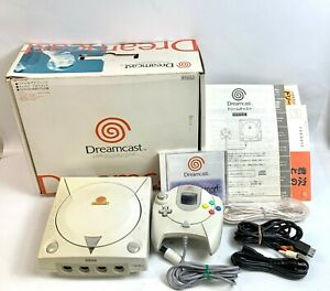 SEGA Dreamcast Console w/Dream Passport YUKAWA Edition Tested WORK Japan Fedex