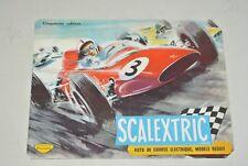 SCALEXTRIX -  Catalogue 1964  -  Miniature electric motor racing