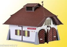 Kibri 38032 Rural Fire Station incl. House Lighting Startset, Kit, H0