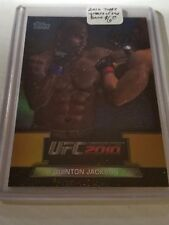 2010 Topps UFC Greats of the Game #GTG11 Quinton Jackson