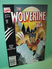 Wolverine Saga #1 Book One Beginnings 1st Print Marvel Comics Comic F/F+