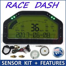 Dash Race Display - SENSOR KIT, Dashboard LCD Screen; Waterproof, 9000rpm, 0-100