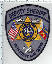 Lafayette Parish Deputy Sheriff (Louisiana) Shoulder Patch - new from the 1980's