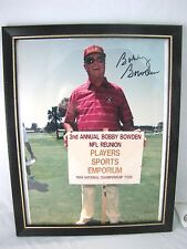 """Signed Bobby Bowden Photo 1994 NFL 2nd Annual Reunion Golf Tour Framed 9.5"""" x 12"""