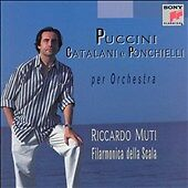 Puccini, Catalani e Ponchielli per Orchestra (CD, May-1998, Sony Music Distribut