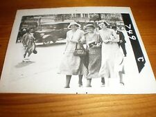 Old Photograph people walking llandudno 1933