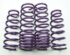 "0.6""/0.7"" Drop Purple Suspension Lowering Springs Kit for Acura TL 04-08"