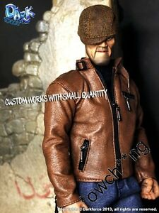 Dark Force 1/6 Scale Driver Killer Custom Combo - Head Sculpt + Hands + Outfit