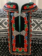 NWT Hand Knit Dale of Norway 100% Wool Sweater - Setesdal Pattern Unisex Size M