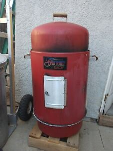 smoker grill, electric/ wood