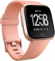 Fitbit Versa - Reloj Deportivo Smartwatch Deportivo, Unisex Adulto, Beige/Meloco