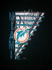 vintage Miami Dolphins Football Team t shirt L tua toagovailoa heat marlins