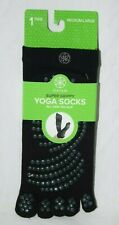 GAIAM Toeless Yoga / Pilates Socks Medium/Large Women's 10-11 Men's 10-12