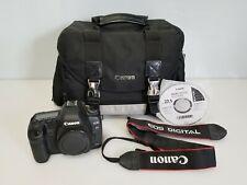 Canon EOS 5D Mark II 21.1 MP Digital SLR Camera, Black (Body Only) w/ Camera Bag
