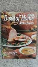 Taste of Home Annual Recipes 1999 Hardcover  FREE SHIPPING EC