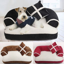 Pet Dog Cat Bed Sofa Chair Cushion Kennel Doggy Puppy Basket Pad Soft Couch Mat