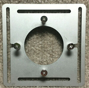 NEST MOUNTING PLATE FOR 3rd Gen & E THERMOSTAT w/Screws Steel Aluminum Wall