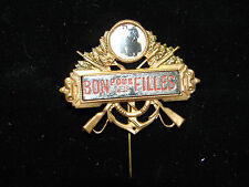Jolie ancienne décoration, Bon pour les filles, fusils