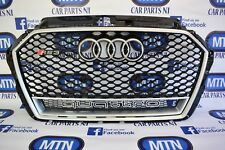 AUDI RS3 RS STYLE GRILL A3 TO RS3 8V5 2016+ FRONT GRILL QUATTRO EDITION