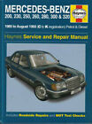 MERCEDES 124 SHOP MANUAL SERVICE REPAIR BOOK HAYNES 300E 300TE 260E 300D W124