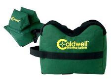 CALDWELL unfilled deadshot shooting bags pair gun rest 248-885 empty set rifle
