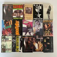 Lot x15 1990s Cassingles Rap / Hip Hop / Soul