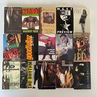 Lot x15 1990s Cassingles Rap / Hip Hop / Soul