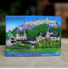 TOURIST SOUVENIR 3D RESIN FRIDGE MAGNET - Salzburg , Austria