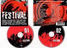FESTIVAL (2 CD) U2,,Coldplay,Oasis,Muse,REM,New Order,Razorlight,Kasabian...2005
