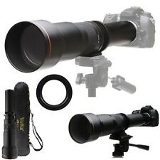 Vivitar 650-1300mm Super Telephoto Lens For Sony DSLR-A100 DSLR-A200 DSLR-A230