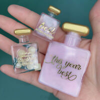 Silicone DIY Perfume Bottle Patch Molding Crystal Epoxy Resin Xmas Crystal Molds
