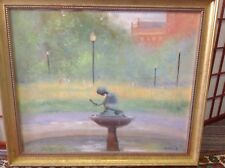ORIGINAL FRAMED  OIL PAINTING  SIGNED R.TOWLE.  (COPLEY SOCIETY)