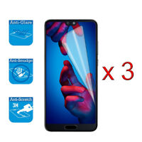 For Huawei P20 Pro / Plus - Screen Protector Cover Guard LCD Film Foil x 3