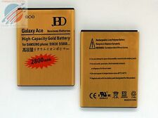 Replacement High Capacity Gold Battery 2800mAh for Samsung Galaxy Ace 1 - S5830