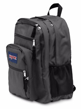 New JanSport Big Student Backpack Book-Bag Rucksack School Hiking Grey