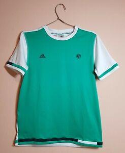 Adidas ROLAND GARROS Tennis Climalite T-shirt Jersey - Kids Boys Size 14-15a