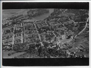 ZZ-4959/ Templin   Foto seltenes Luftbild  ca.1935 18 x 13 cm