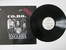 Co. RO. feat 'TALEESA-sta succedendo qualcosa-IL RE-MIX - 12 in (ca. 30.48 cm) SINGLE