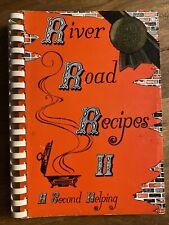 River Road Recipes II: A Second Helping by Junior League of Baton Rouge LA Cajun
