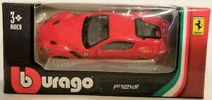 Bburago - 1:64 Scale Model Ferrari Race & Play F12tdf (BBBR56100BF12)
