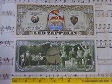 LED ZEPPELIN: World Famous Rock & Roll Band ~*~ $1,000,000 One Million Dollars