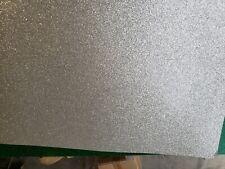 Slingerland/Delmar Original Silver Glass Glitter Drum Wrap