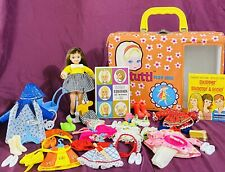 Tutti Barbie Doll Bundle Brunette Playcase 8 Rare Outfits Accessories Booklets