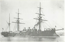 "French Heavy Cruiser ""Le Tage""(built 1886,sunk in 1910--(Ed.U.C.S.N./H.Dousset)."