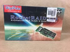 Highpoint RocketRaid 464 / 4-Channel ATA Raid 5 Host Adapter - NEW